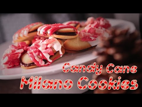 How to Dress Milano Cookies Up With Candy Canes