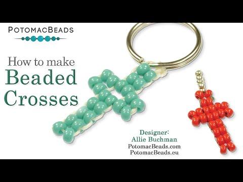 Make Easy Beaded Crosses