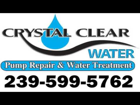 Well Water Filtration ALVA Crystal Clear Water FL Water problems?  239-599-5762