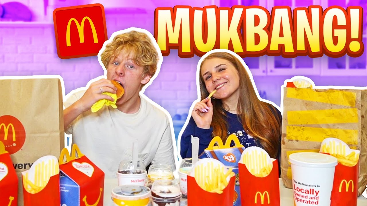 MUKBANG WITH MY GIRLFRIEND **We're Getting MARRIED?** |Lev Cameron
