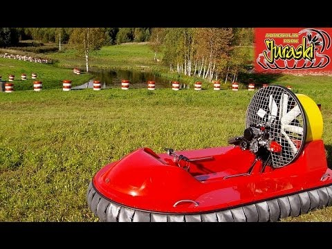 Let's make some noise, let's fly a hovercraft