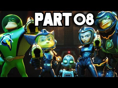 Ratchet and Clank Walkthrough Gameplay Part 8 - NEW HOVERBOARD (2018 PS4)