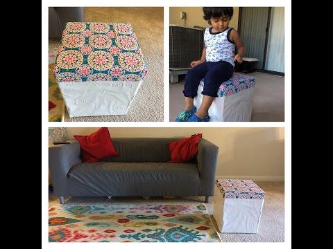 DIY Cardboard stool