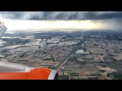 Full Flight London Gatwick to Milan Malpensa. Easyjet EZY5293 Airbus A320 G-EZWY
