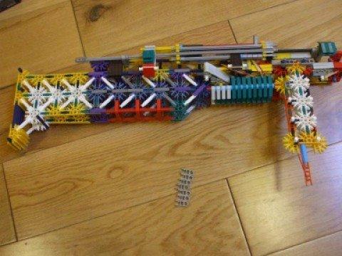 Knex Semi Automatic gun