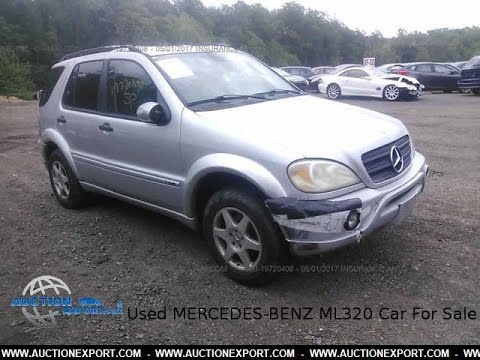 Used MERCEDES-BENZ ML320 for Sale, Shipping to Switzerland