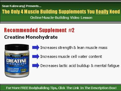 The Only Supplements You Need To Build Lean Muscle Mass.
