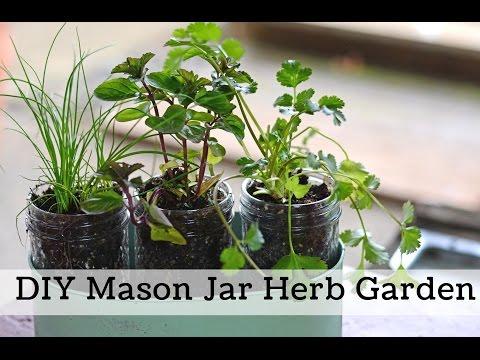 How to Make a Windowsill Herb Garden, Simple Garden Gift