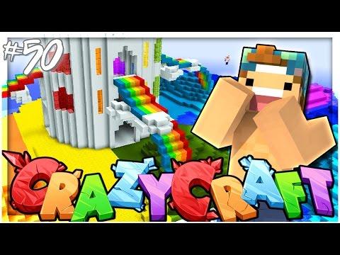 GAY RAINBOW ISLAND!   EP 50   Crazy Craft 3.0 (Minecraft Youtuber Server)