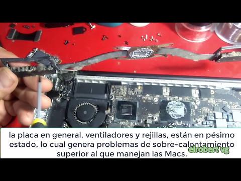 Desarmar y dar limpieza a MacBook Pro Retina