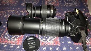 Cheapest NIKON zoom lens 70-300mm Unboxing