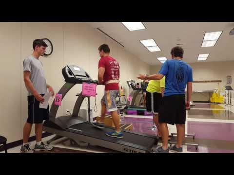 Bruce Treadmill Exercise Test