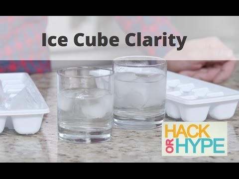 Hack or Hype: Ice Cube Clarity