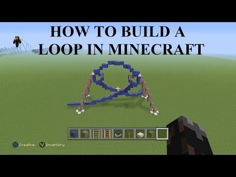 How to make Coaster Elements (Loop-da-Loop): Minecraft