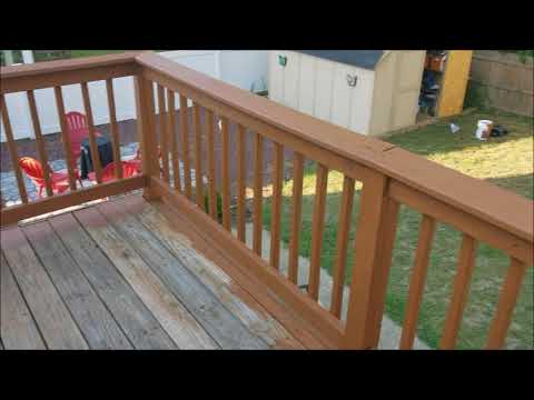 Stain your Deck with Behr Premium Deck Stain