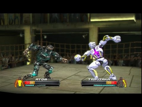Real Steel-EPIC BATTLE OF THE ATOM vs Tripitaka killer robot(ЖИВАЯ СТАЛЬ)XBOX 360/PS3