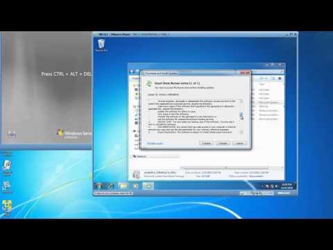 Install 2008 Remote Server Administration Tools (RSAT) on Windows 7