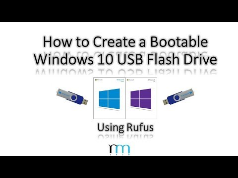 How to Create a Bootable Windows 10 USB Flash Drive Using Rufus
