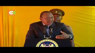 President Kenyatta welcomes dialogue with the opposition