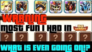 IDLE HEROES HUGE 5 months Transformation?! ALL-IN! GO BIG or go