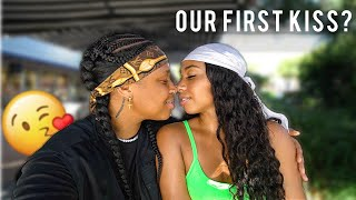 I Tried to *KISS* my CRUSH for the 1st TIME and THIS HAPPENED! | EZEE X NATALIE