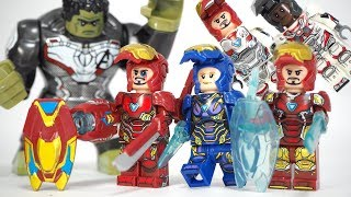 Download Lego Avengers Endgame Iron Man Weapons Pepper Potts War Machine Hawkeye Unofficial Minifigures Video