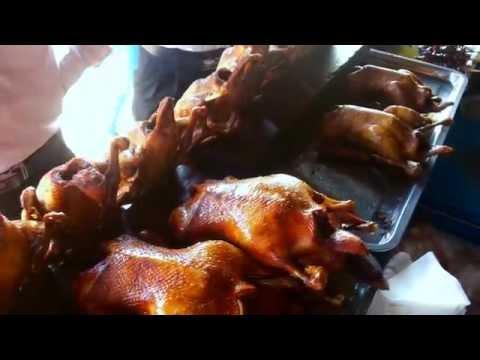 Asian Street Food - Kampot Tour - Chhouk Roasted Ducks #1 - Youtube 2015