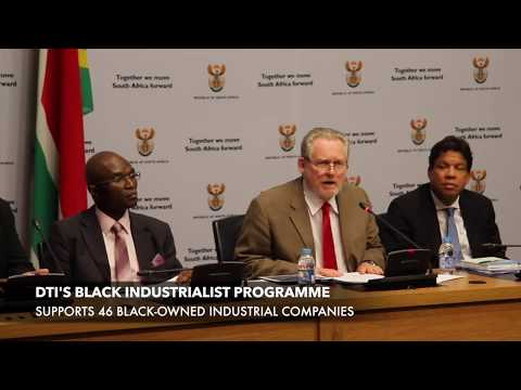 DTI Minister Dr Rob Davies | Black Industrialist & Agro-Processing Programmes