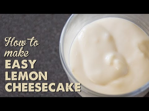 How to Make Easy Lemon Cheesecake | A Thousand Words