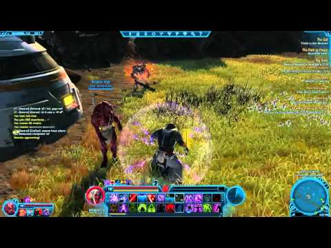 SWTOR Quests and Combat (Live)