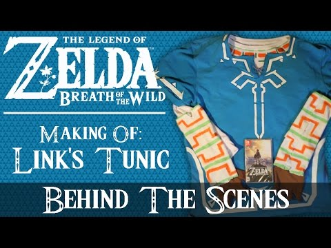 Making Of: Link's Tunic (Zelda: Breath Of The Wild) | Behind The Scenes