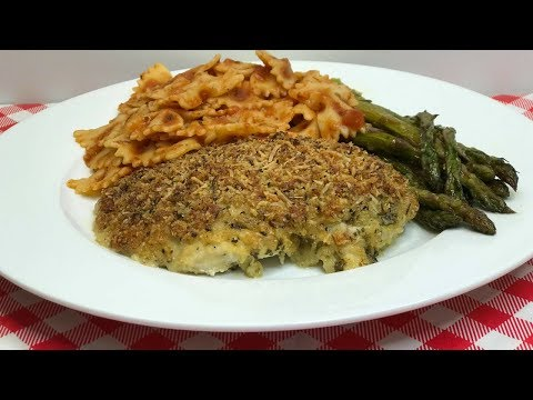 Parmesan Pesto Crusted Chicken Breast ~ Easter Recipe  ~ Spring Entertaining ~ Noreen's Kitchen