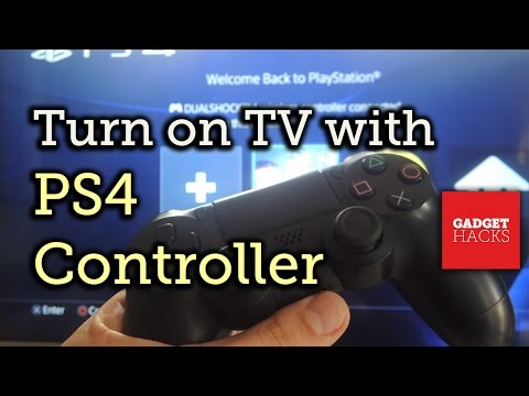 Turn Your TV on Using Your PS4 Controller [How-To]