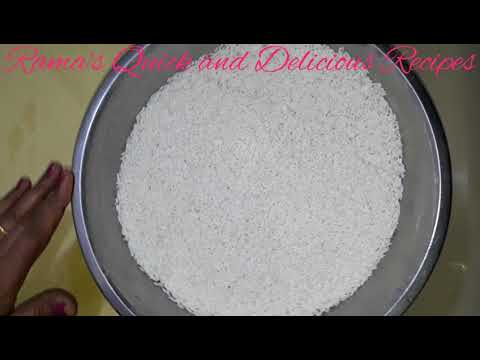 घर मे कैसे बनायें चावल का परफेक्ट आटा | Home Made Rice Flour