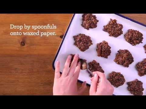 How to Make No-Bake Oatmeal Cookies   Quaker