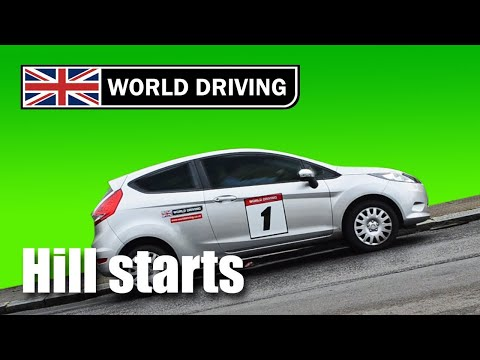 How to do Hill Starts easily in a manual/stick shift car - learning to drive tips