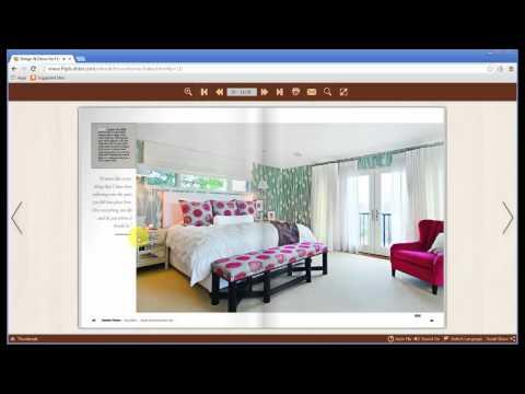 FlipBuilder rotate original PDF magazine or catalog