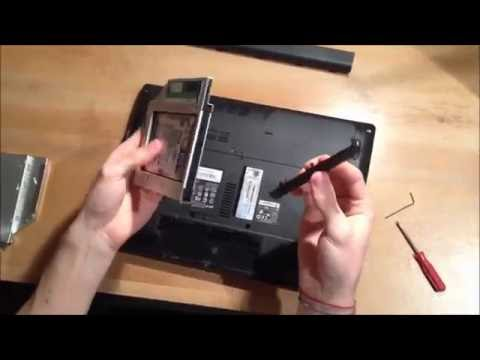 Acer Aspire 4741G adding 2nd HDD / SSD using DVD / optical drive bay