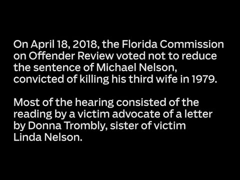 Audio: A plea for not reducing sentence of killer Michael Nelson