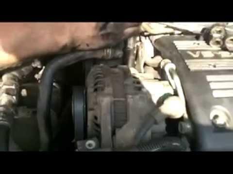 Replacing Honda Accord Belts V6 Power Steering Alternator Ac Belts
