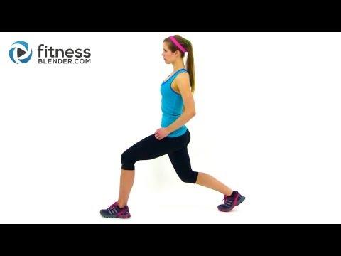 Fitness Blender 5x5x5 Pulse Workout for Butt & Thighs - Legs on Fire Workout