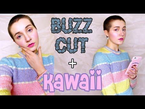 How To Be Kawaii with a Shaved Head