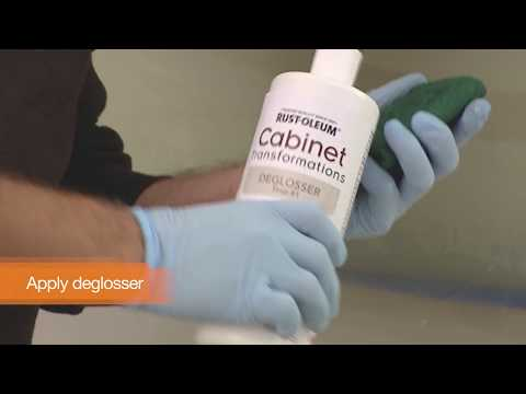 Refinishing Cabinets With Rust-Oleum