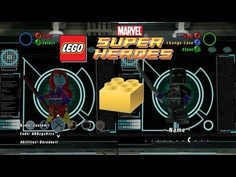 LEGO: Marvel Super Heroes - Customizing Characters & Unlocking Gold Bricks - Part 3