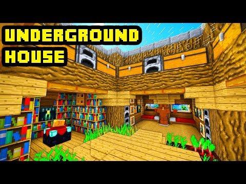 Minecraft Tutorial: Advanced Underground House Build