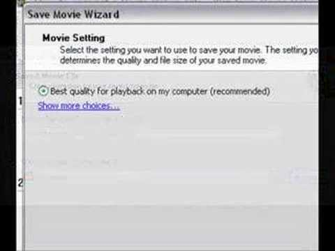 How to: Convert a Movie Maker File