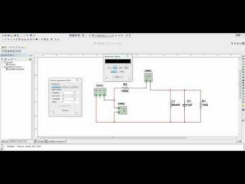 RLC Parallel Resonance Circuit