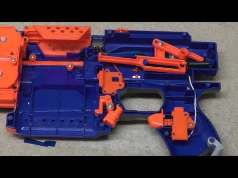 How To Mod A NERF Stryfe (easiest way)