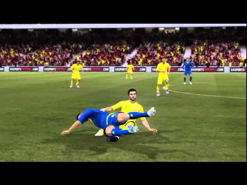 FIFA 12 Ultimate Team Goal Keepers VS 5 Star Team
