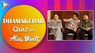 Alia Bhatt Quiz: How Well Do The Doorbeen Boys Know Alia's Songs? | PRADA